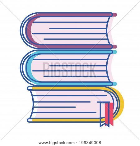 books with important information to learn and read vector illustration