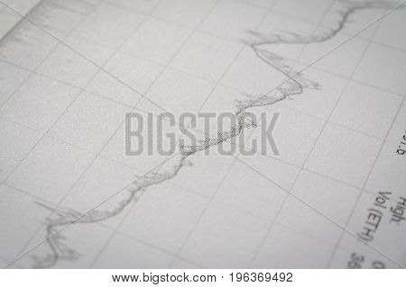 financial graph close up for you content