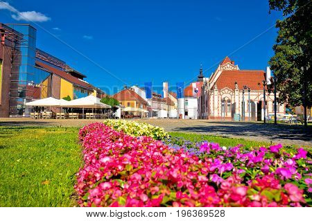 Town Of Cakovec Main Square View