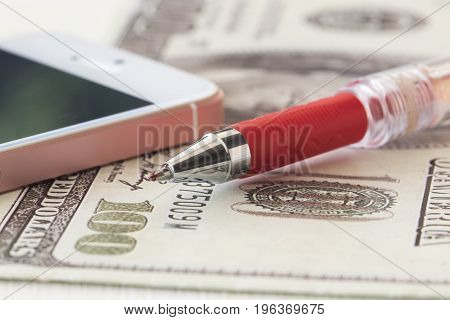 background texture financial banknote money with business
