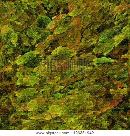 Texture abstract foliage tile color horizontal background