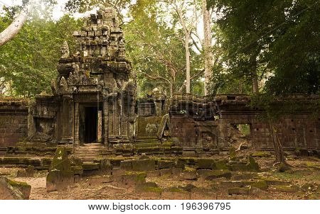 Baphuon temple in Siem Reap, Cambodia. The Baphuon is a temple at Angkor Thom. Built in the mid-11th century.