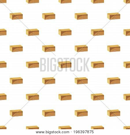 Drawer pattern seamless repeat in cartoon style vector illustration