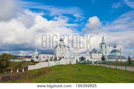 Orthodox monastery in the village of Arskoye in the Ulyanovsk region