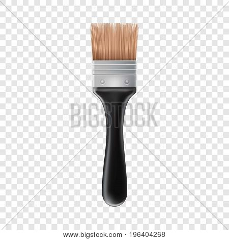 Small brush icon. Realistic illustration of small brush vector icon for web