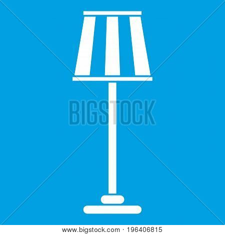 Floor lamp in simple style isolated on white background vector illustration