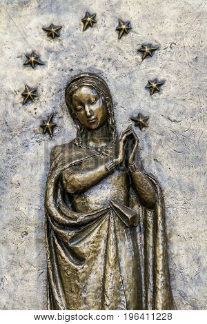 Santa Maria Immacolata Delle Grazie Church In Bergamo