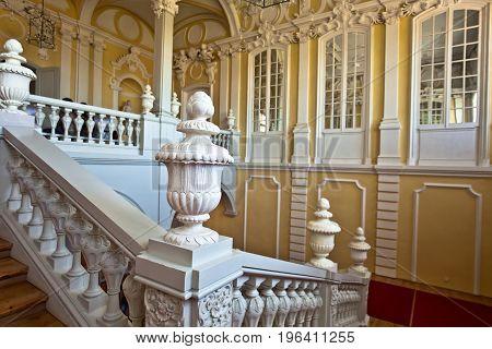 Interior Of Rundale Palace.