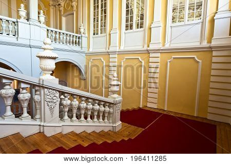 Interior Of Rundale Palace.
