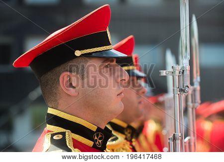 Guard Of Honor In Georgia