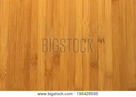 An empty brown bamboo wood floor background that can serve as a texture