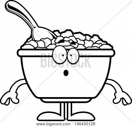Surprised Cartoon Cereal
