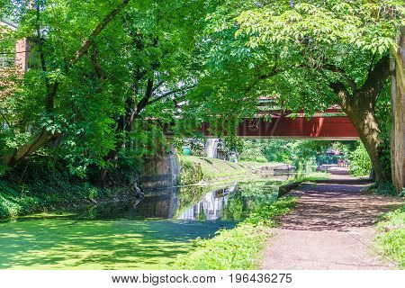 Delaware Canal Towpath New Hope PA USA
