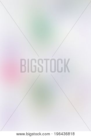 The varicolored blur Abstract picture in white and beige.