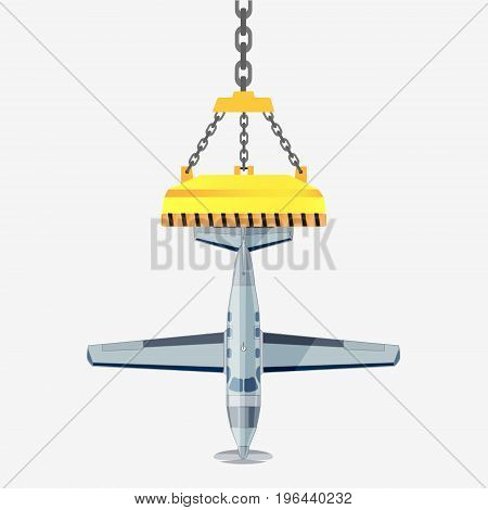 Plane Vector Stock Illustration