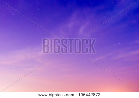 sunset sky background, evening clouds natural composition