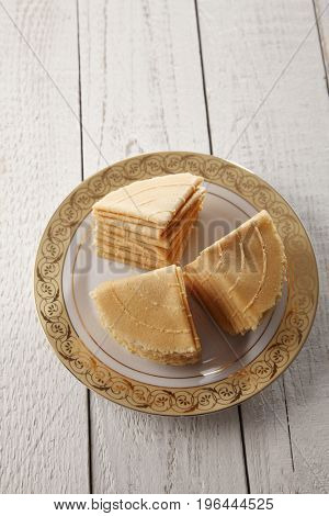 malaysia traditional food kueh kapit