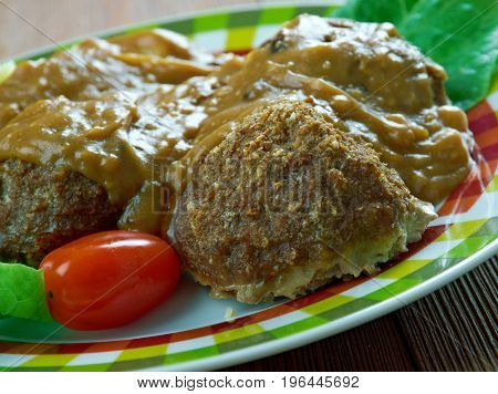 Welsh-style Pork Meatballs