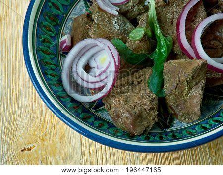 Mazza Uzbek Dish