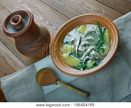Keski-Suomen rantakala - Finnish fish soup of whitefish