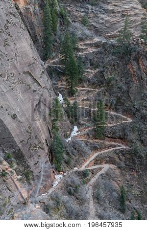 Switchback To Hidden Canyon