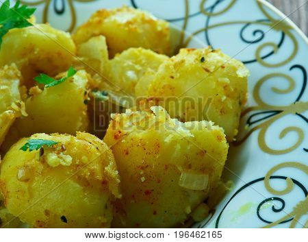 Cumin Seed Potatoes .