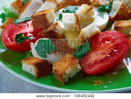 Chicken Ensalada Cezar