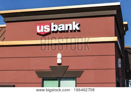 Las Vegas - Circa July 2017: U.S. Bank and Loan Branch. US Bank is ranked the 5th largest bank in the United States I