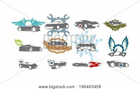 Car Service Bundle Set Collections29