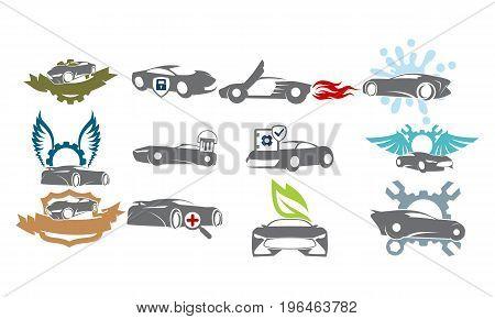 Car Service Bundle Set Collections33