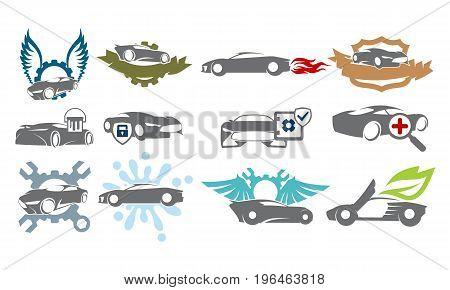 Car Service Bundle Set Collections37