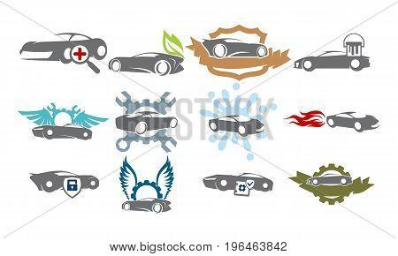 Car Service Bundle Set Collections40