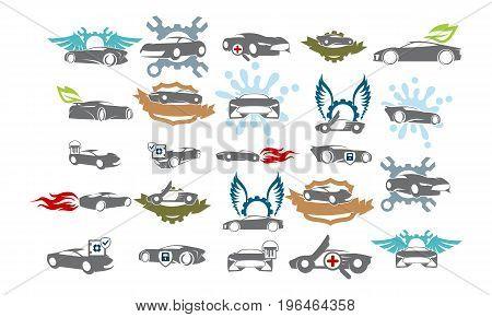 Car Service Bundle Set Collections44