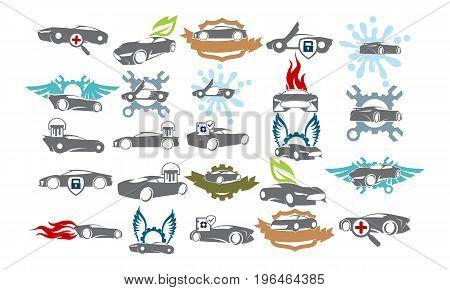 Car Service Bundle Set Collections46