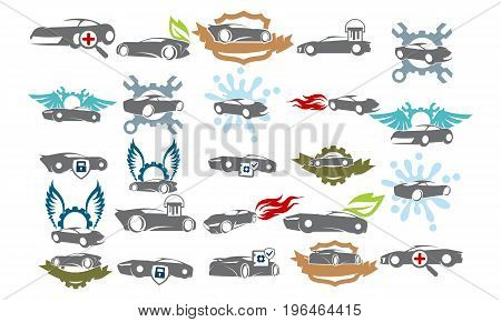 Car Service Bundle Set Collections49
