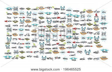 Car Service Bundle Set Collections53