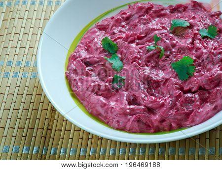 Finnish Beet Salad