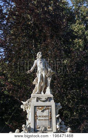 Vienna, Statue Of Mozart