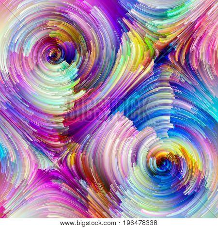 Colorful Painter Palette
