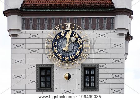 Old town hall architecture in Munich, Germany