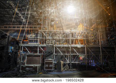 Preparation For A Concert