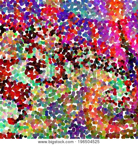 Abstract background of color points for design projects,chaotic waves and multicolored spots.