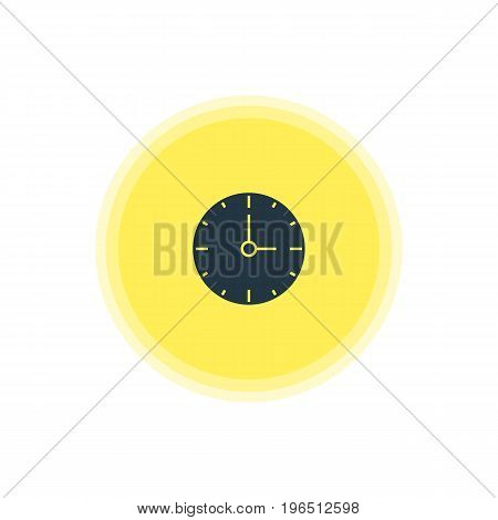 Vector Illustration Of Time Icon. Beautiful Online Element Also Can Be Used As Clock Element.