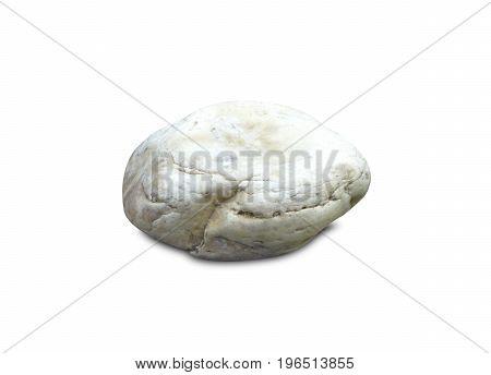 Stones Isolated On White Background.