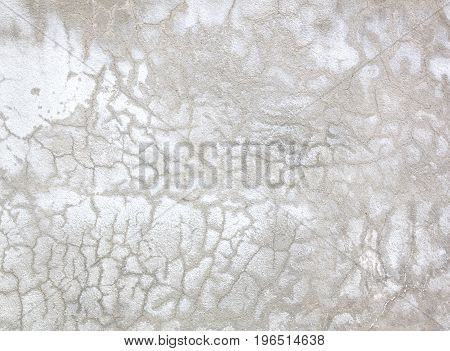 White Old Cement Wall