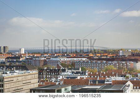 Copenhagen And Oresund Bridge, Denmark, Editorial