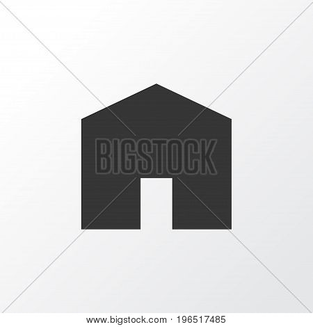 House Icon Symbol. Premium Quality Isolated Home Element In Trendy Style.