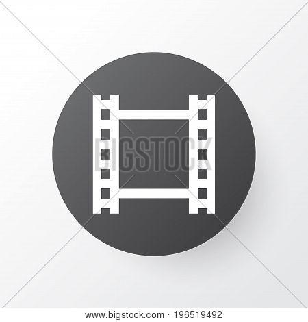 Video Icon Symbol. Premium Quality Isolated Film Element In Trendy Style.