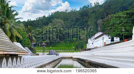 Buddhist Temple of the Tooth of the Buddha Kandy Sri Lanka