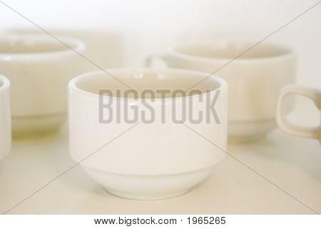 Coffee Cups Waiting